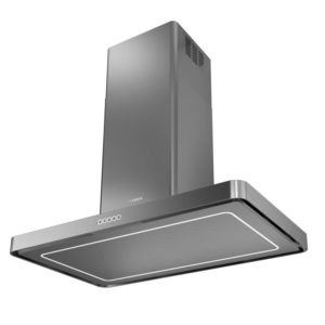 Faber T-LIGHT ISOLA X A100 T-Light Isola 100cm Island Hood – STAINLESS STEEL