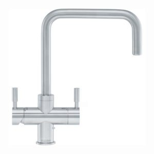 Quooker PRO3 NORDIC SQUARE BC Nordic Boiling Water Tap – BRUSHED CHROME
