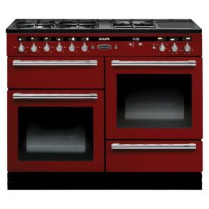 Rangemaster HLT110DFFRD/C Hi Lite 110cm Dual Fuel Range Cooker 103740 – RED - RED