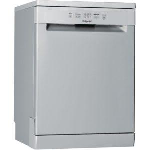 Hotpoint HFC2B19SV 60cm Freestanding Dishwasher - SILVER