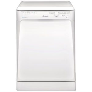Indesit DFP27T94Z 60cm Freestanding Extra Baby Care Dishwasher – WHITE - WHITE