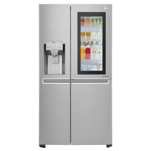LG GSX960NSAZ Instaview Door In Door American Style Fridge Freezer With Ice & Water – STAINLESS STEEL