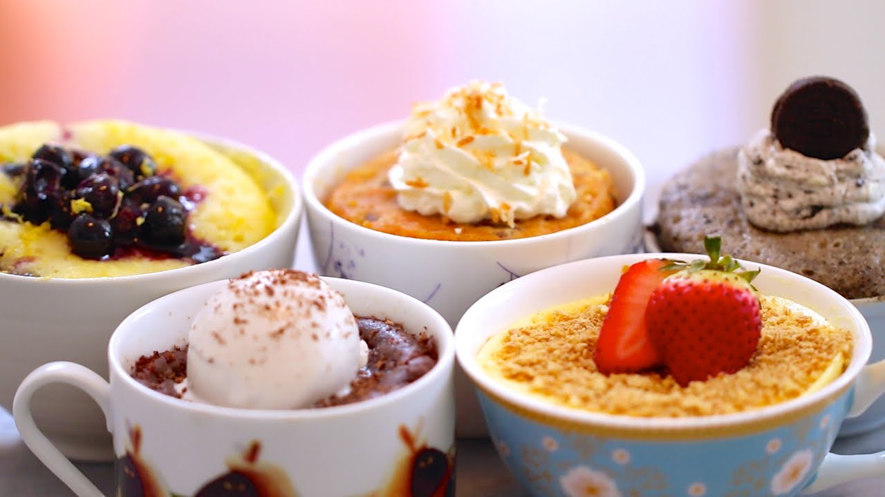 1 Minute Mug Cakes - Appliance City - Recipes