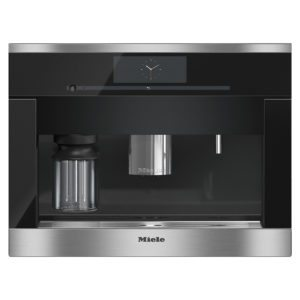 Miele CVA6800CLST PureLine M-Touch Built In Coffee Machine - STAINLESS STEEL