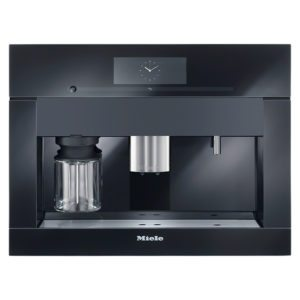 Miele CVA6805OBBL PureLine M-Touch Plumbed In Coffee Machine - BLACK