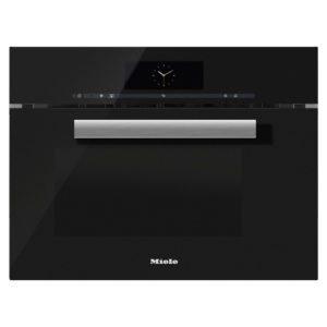Miele DGM6805OBBL PureLine M-Touch Steam Oven & Microwave – BLACK
