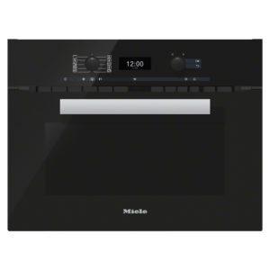 Miele H6400BMOBBL Pureline Combination Microwave – BLACK