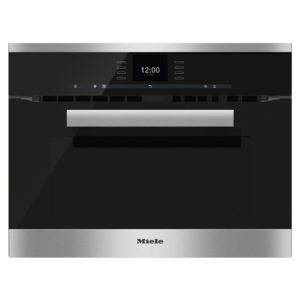 Miele H6600BMCLST Pureline Combination Microwave - STAINLESS STEEL