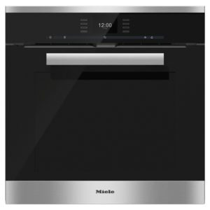 Miele H6660BPCLST PureLine Pyrolytic Built In Oven – STAINLESS STEEL
