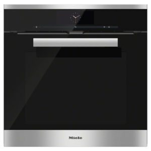 Miele H6860BPCLST PureLine M-Touch Pyrolytic Built In Oven – STAINLESS STEEL