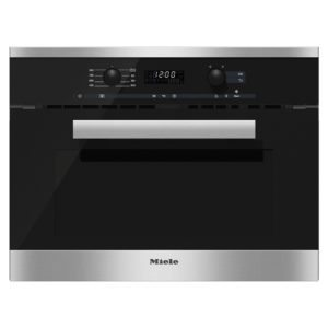 Miele M6260TCCLST PureLine Built In Microwave - STAINLESS STEEL