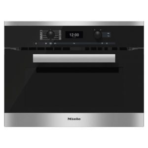 Miele H6400BMCLST Pureline Combination Microwave – STAINLESS STEEL