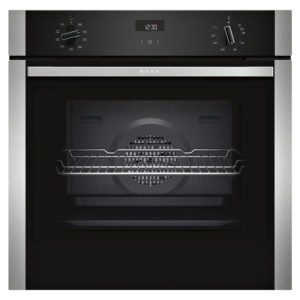 Neff B1ACE4HN0B N50 CircoTherm Single Oven – STAINLESS STEEL