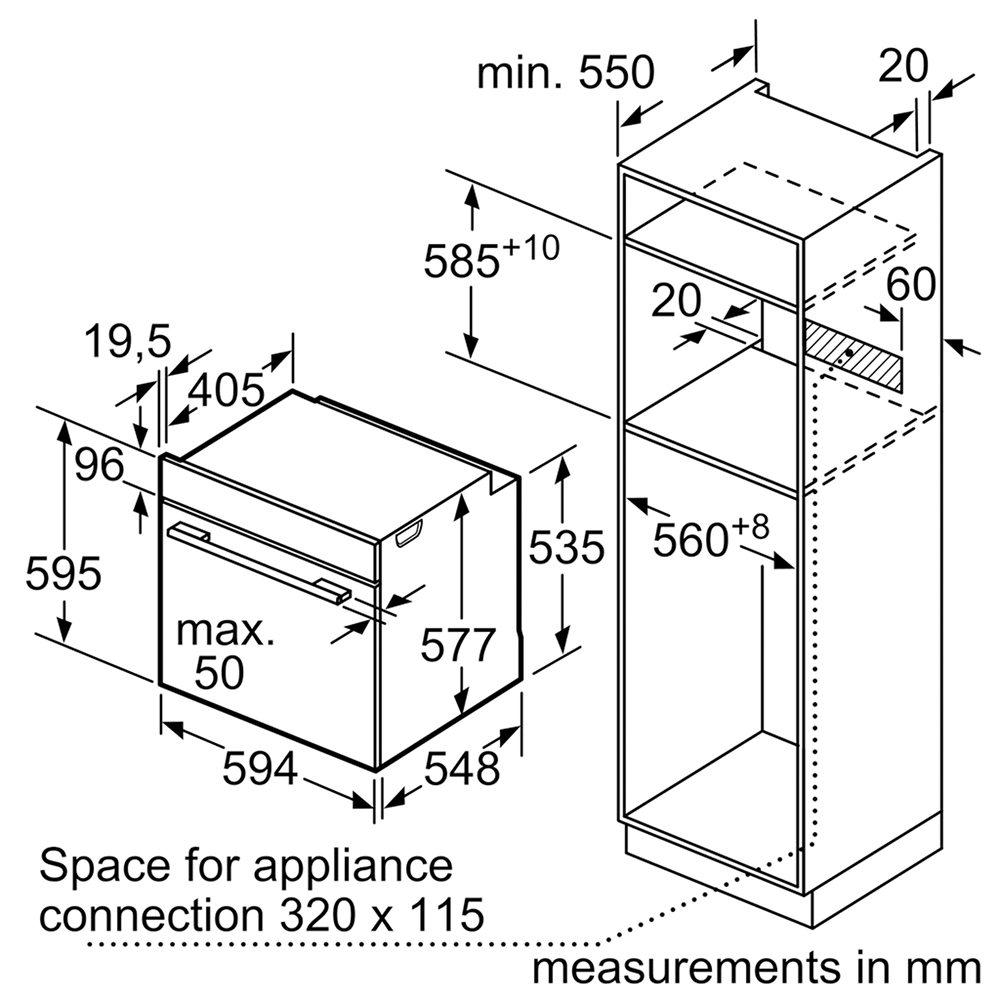 neff b3ace4hn0b n50 circotherm single oven slideaway door