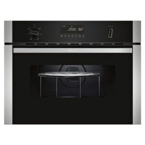 Neff C1AMG83N0B N50 Compact Oven With Microwave For Tall Housing – STAINLESS STEEL