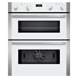 Neff J1ACE2HW0B N50 CircoTherm Built Under Double Oven – WHITE