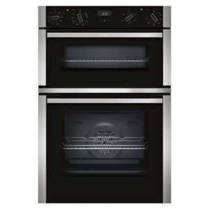 Neff U1ACE2HN0B N50 CircoTherm Built In Double Oven - STAINLESS STEEL