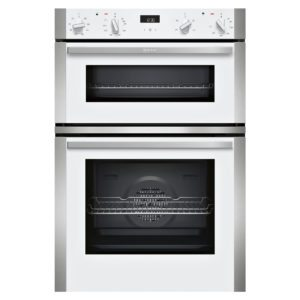 Neff U1ACE2HW0B N50 CircoTherm Built In Double Oven - WHITE