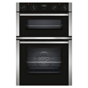 Neff U1ACI5HN0B N50 CircoTherm Built In Double Oven - STAINLESS STEEL