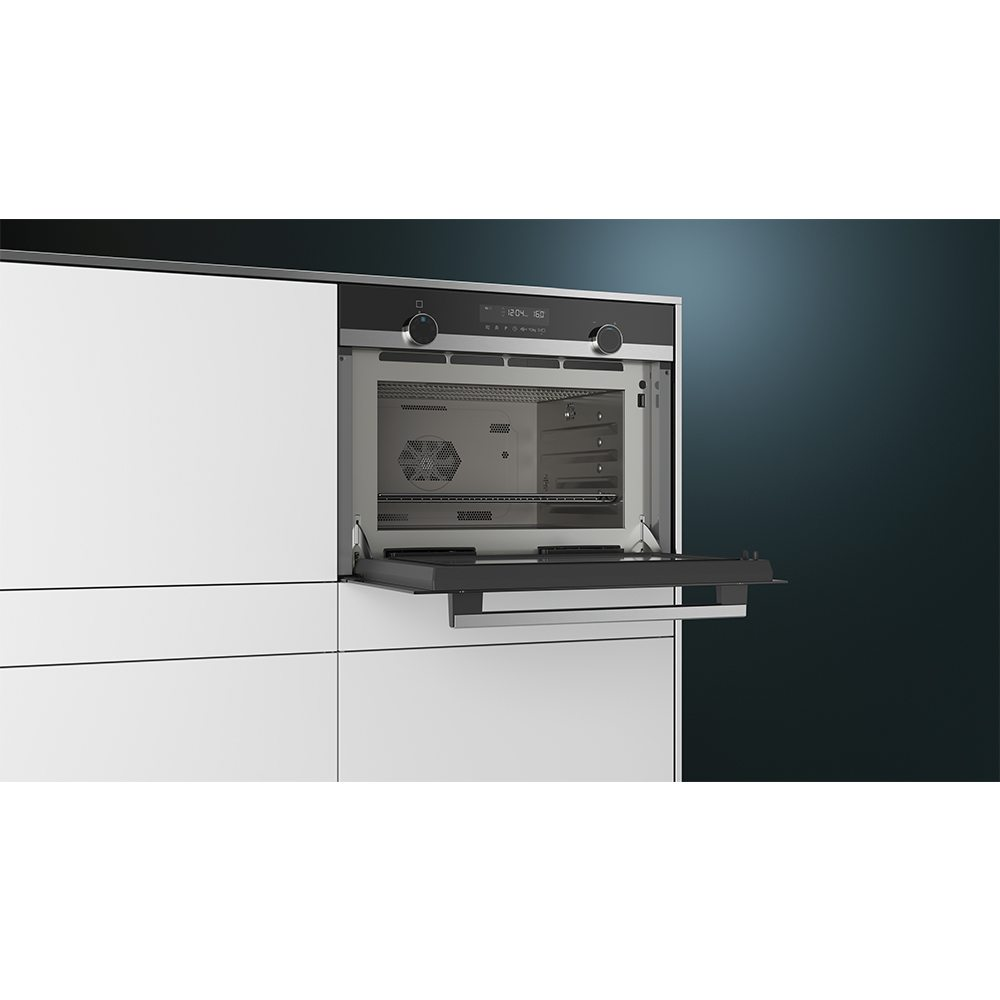 Siemens Cp565ags0b Iq500 Compact Oven With Microwave And Steam