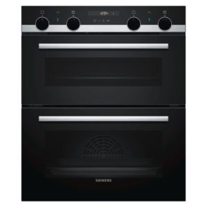 Siemens NB535ABS0B IQ-500 Built Under Multifunction Double Oven – STAINLESS STEEL