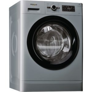 Whirlpool FWG81496S 8kg Fresh Care Steam Washing Machine 1400rpm – SILVER