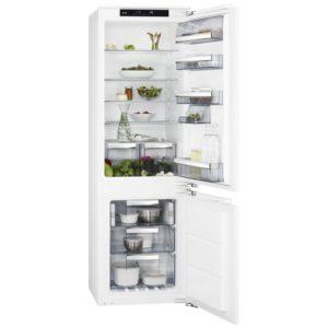 AEG SCE8182XNC 177cm Integrated 70/30 Frost Free Fridge Freezer