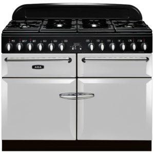 AGA Masterchef MENXSFPAS 110cm Dual Fuel Range Cooker – PEARL ASHES