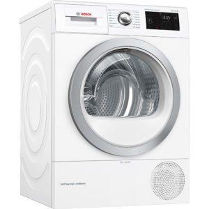 Bosch WTWH7660GB 9kg Heat Pump Condenser Tumble Dryer - WHITE