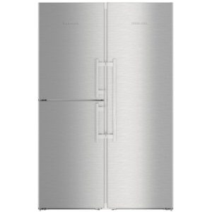 Liebherr SBSES8663 121cm Side By Side With Biofresh – STAINLESS STEEL