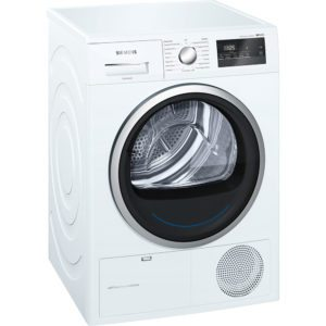 Siemens WT45M231GB 8kg IQ-300 Heat Pump Condenser Tumble Dryer - WHITE