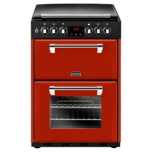 Stoves RICH600DFJAL 4724 60cm Freestanding Dual Fuel Cooker - RED
