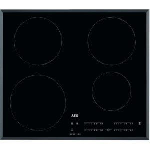 AEG IKB64401FB 60cm 4 Zone Bevelled Edge Induction Hob - BLACK