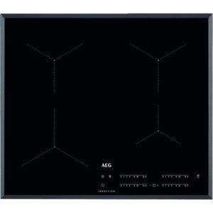 AEG IKB64431FB 60cm 4 Zone Bevelled Induction Hob – BLACK