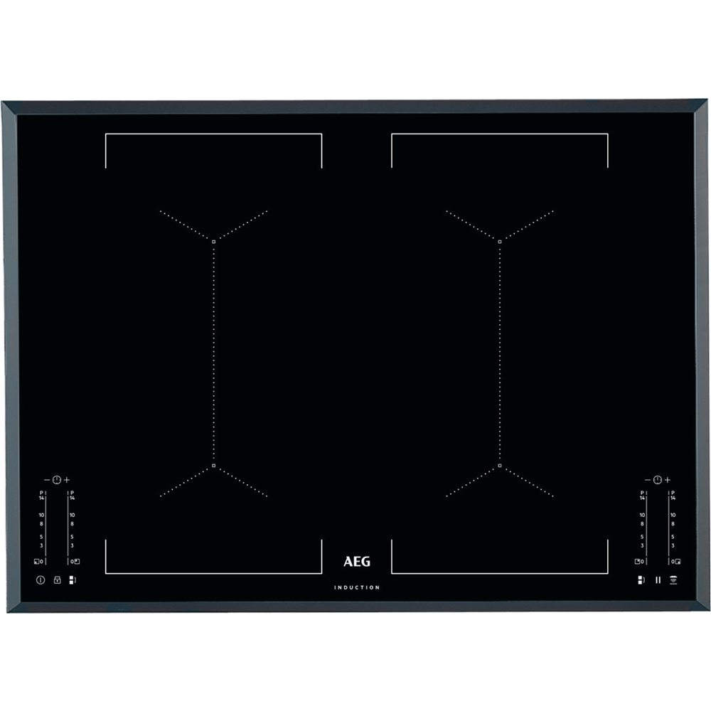 Aeg Ike74451fb 71cm 4 Zone Induction Hob
