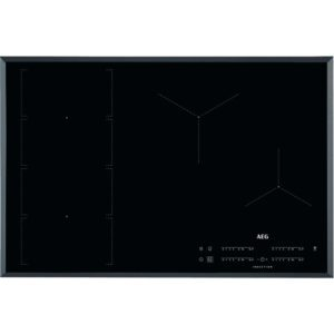 AEG IKE84471FB 78cm 4 Zone MaxiSense Induction Hob – BLACK