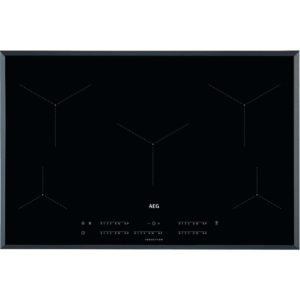 AEG IKE85431FB 78cm 5 Zone MaxiSense Induction Hob - BLACK