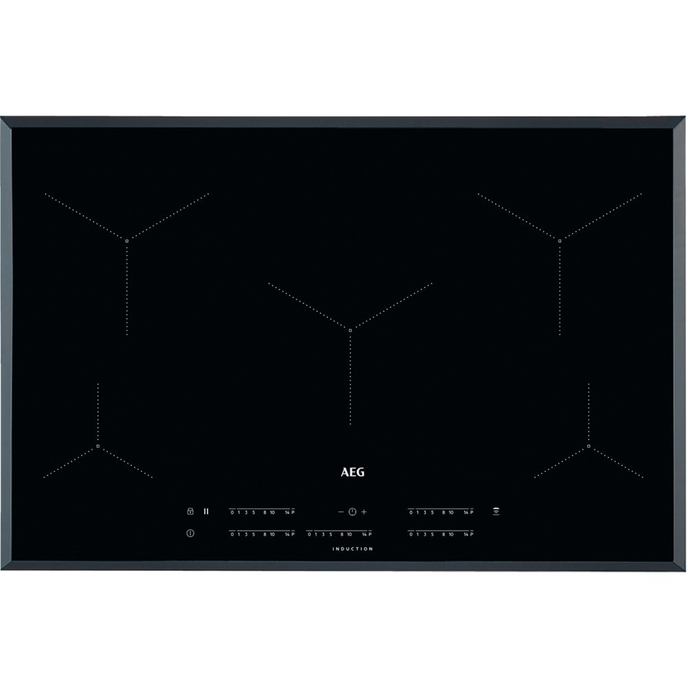 Aeg Ike85431fb 78cm 5 Zone Maxisense Induction Hob