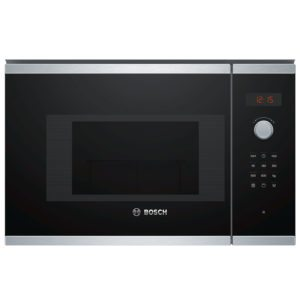 Bosch BEL523MS0B Serie 4 Built In Microwave & Grill For Wall Unit – STAINLESS STEEL