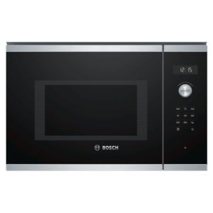 Bosch BFL554MS0B Serie 6 Built In Microwave For Tall Housing – STAINLESS STEEL