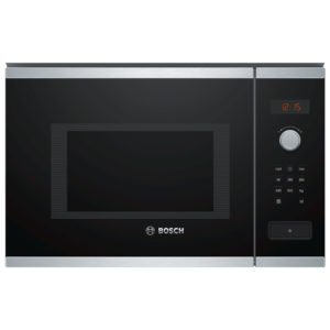 Bosch BFL553MS0B Serie 4 Built In Microwave For Tall Housing – STAINLESS STEEL