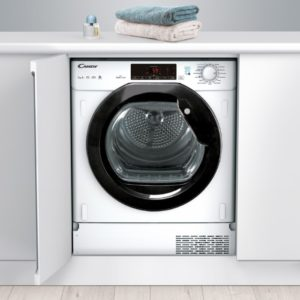 Candy CTDBH7A1TBE 7kg Integrated Heat Pump Condenser Tumble Dryer – WHITE