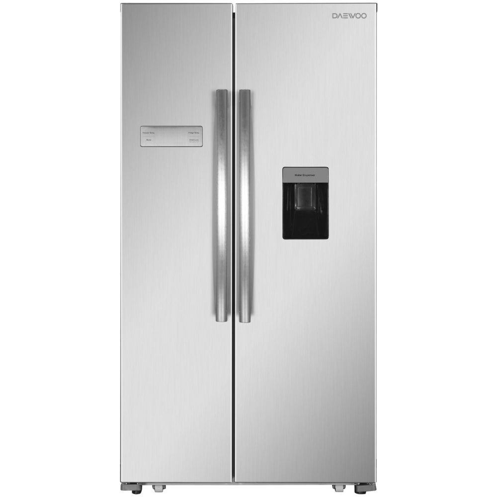 Daewoo FRAH52WD3S American Style Fridge Freezer With Water Dispenser