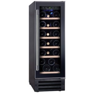 Hoover HWCB30UK 30cm Freestanding Under Counter Wine Cooler – BLACK