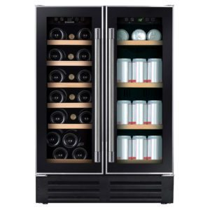Hoover HWCB60DUK 60cm Freestanding Under Counter Wine Cooler – BLACK