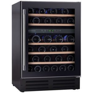 Hoover HWCB60UK 60cm Freestanding Under Counter Wine Cooler – BLACK