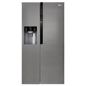 LG GSL361ICEZ American Fridge Freezer Non Plumbed Ice & Water - STAINLESS STEEL