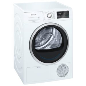 Siemens WT45N201GB 8kg IQ-300 Condenser Tumble Dryer - WHITE