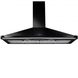 AGA Masterchef ATHOOD110BLK 110cm Traditional Chimney Hood – BLACK