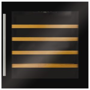 CDA FWV601BL 60cm Integrated In Column Wine Cooler - BLACK